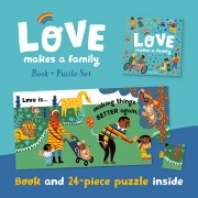 Love Makes a Family (Book and Puzzle Set)