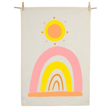 Organic Cotton Tea Towel - Wild And Free