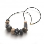 Emily Green Big Bead Necklace - Liza