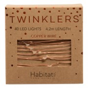 Twinklers Indoor LED Light String Warm White