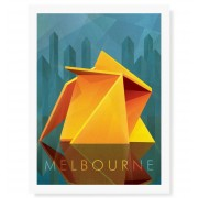 Vault (The Yellow Peril) Melbourne Print