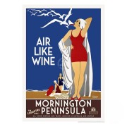 Retro Print - Mornington Peninsula Air Like Wine