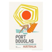 Retro Print - Port Douglas