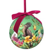 Extravagant Christmas Bauble - Floral Paradiso