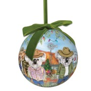 Extravagant Christmas Bauble - Sunny Outback