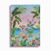Deluxe Journal - Koala Cuties Holiday