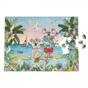 Puzzle - Sunshine Lovers Paddle Board
