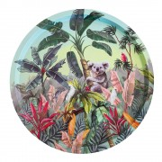 Round Tray - Nature Dwellings Tropical