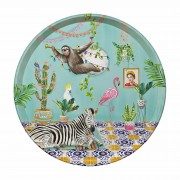 Round Tray - Tropical Abode