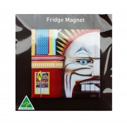 Luna Park Fridge Magnet