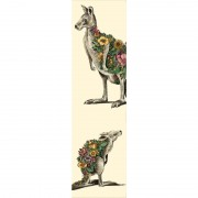 Bookmark -  Kangaroo & Joey