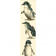 Bookmark -  Penguin Parade