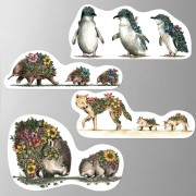 Magnets (Set of 4) - Australian Families 2