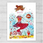 Limited Edition Print By Meredith Gaston - Little Mermaid