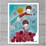 Limited Edition Print By Meredith Gaston - Taking Flight!