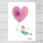 Limited Edition Print By Meredith Gaston - The Art of Kindness