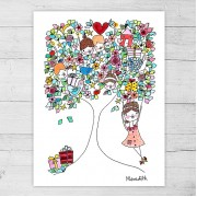 Limited Edition Print By Meredith Gaston - The Giving Tree