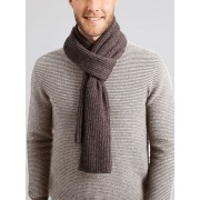 Yennora Essential Merino Wool Scarf - Rock