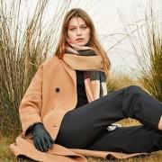 The Single-sided Plaid Wool Shawl - British Plaid
