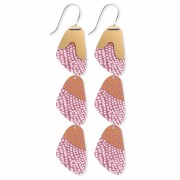 Organic Pippi Drop Earrings - Organic Akweke Stories