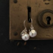 Rockpool Pearl & Charm Earrings