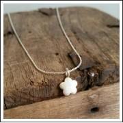 Mini Flower Pendant Necklace