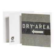 Greeting Card - Dry Area
