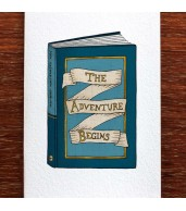 Greeting Card - The Adventure Begins