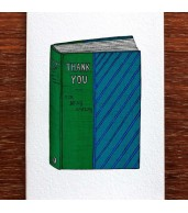 Greeting Card - Thank-you Book