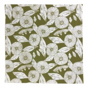 Linen Napkins - Gum Flower Green (Set of 4)