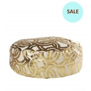 Links Gold Foil Tuffet Large
