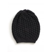 Bellamy Merino Wool Beanie - Blackcurrant