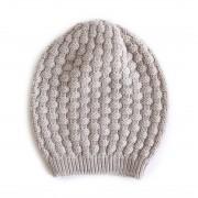 Bellamy Merino Wool Beanie - Mushroom