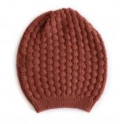 Bellamy Merino Wool Beanie - Terracotta
