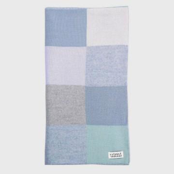 Frankie Merino Wool Bassinet Blanket - Sky