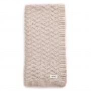 Mabel Bassinet Blanket Merino Wool - Oatmeal