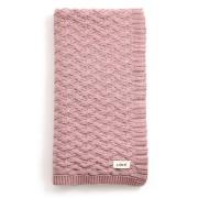 Mabel Bassinet Blanket Merino Wool - Rosewood