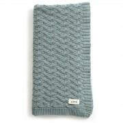 Mabel Bassinet Blanket Merino Wool - Sea