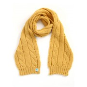Trinity Merino Wool Kids Scarf - Banana