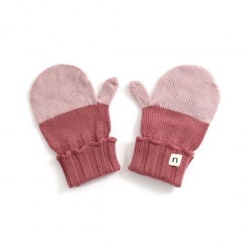 Roxy Merino Wool Kids Mitten - Grape