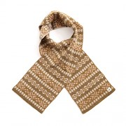 Alice Merino Wool Kids Scarf - Nutmeg