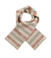 Alice Merino Wool Kids Scarf - Wheat