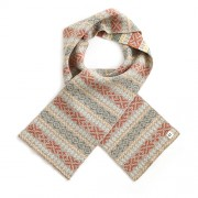 Alice Merino Wool Kids Scarf - Wheat
