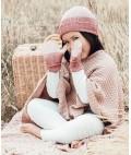 Roxy Merino Wool Kids Beanie Duck - Grape