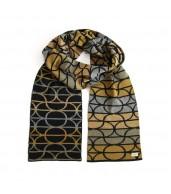 Kennedy Merino Wool Scarf  - Saffron