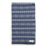 Alice Merino Wool Bassinet Blanket - Indigo