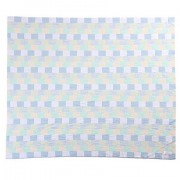 Caris Cot Blanket Merino Wool - Chambray