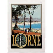 Lorne Vintage Advertising Art Print